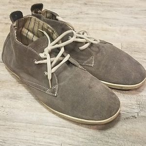Guess》Suede shoe boots gray 12